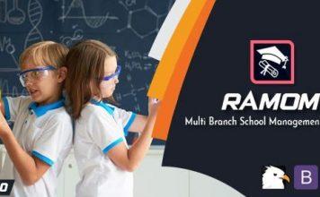 Ramom School v3.5 - Multi Branch School Management System Nulled