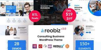 Reobiz v3.5 - Consulting Business WordPress Theme
