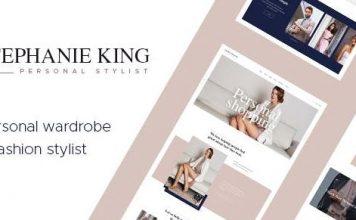 S.King v1.3.1   Personal Stylist and Fashion Blogger WordPress Theme