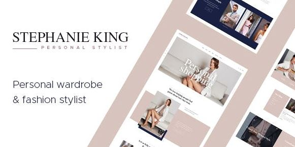 S.King v1.3.1 | Personal Stylist and Fashion Blogger WordPress Theme