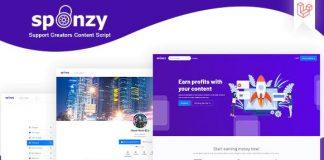 Sponzy v1.5 - Support Creators Content Script