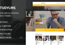 Studylms v1.19 - Education LMS & Courses WordPress Theme