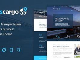 Transcargo v2.4 - Transportation WordPress Theme for Logistics