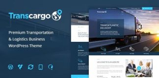 Transcargo v2.4 - Transportation WordPress Theme for Logistics