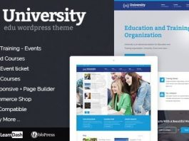 University v2.1.4.2 - Education, Event and Course Theme