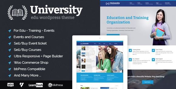 University - Education, Event and Course Theme v2.1.3.2