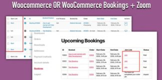 Zoom Integration for WooCommerce Bookings v2.3.0