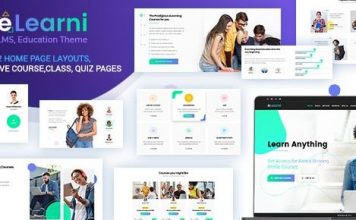 eLearni v1.9 - Online Learning & Education LMS