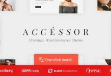 Accessories Shop - Online Store, WooCommerce & Shopping WordPress Theme