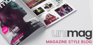 Anymag - Magazine Style WordPress Blog v1.02