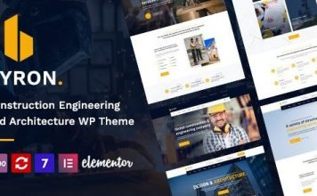Byron | Construction and Engineering WordPress Theme