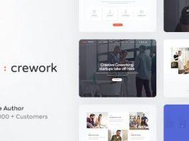 Crework   Coworking and Creative Space WordPress Theme v1.1.5