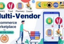 GoMarket | Food, Grocery, Pharmacy & Courier Delivery App | Multi-Vendor Marketplace Nulled