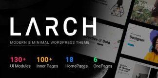 Larch - Responsive Minimal Multipurpose WordPress Theme