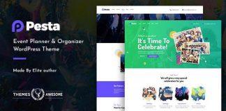 Pesta | Event Planner & Organizer WordPress Theme