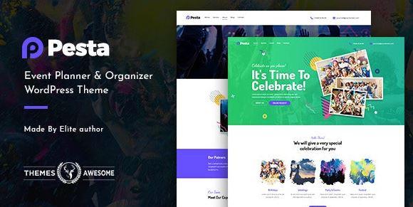 Pesta   Event Planner & Organizer WordPress Theme