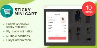 Sticky Mini Cart For WooCommerce