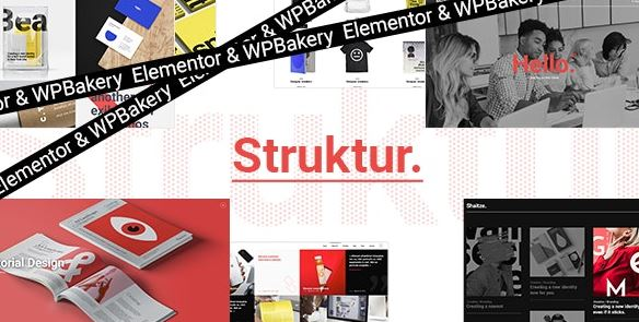 Struktur - Creative Agency WordPress Theme