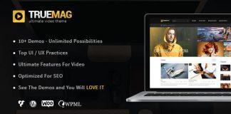 True Mag - WordPress Theme for Video and Magazine v4.3.6
