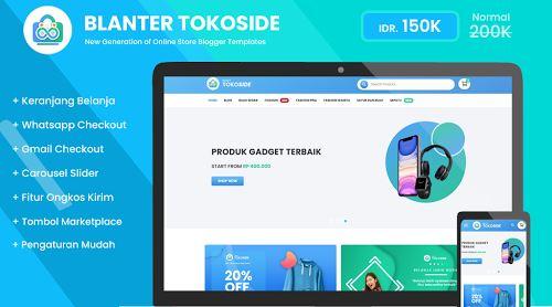 Blanter Tokoside Premium Blogger Template