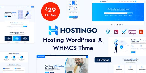 Hostingo - Hosting WordPress & WHMCS Theme