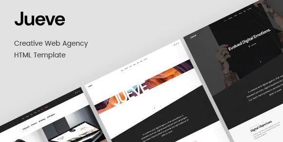 Jueve   Creative Agency HTML Template Onepage