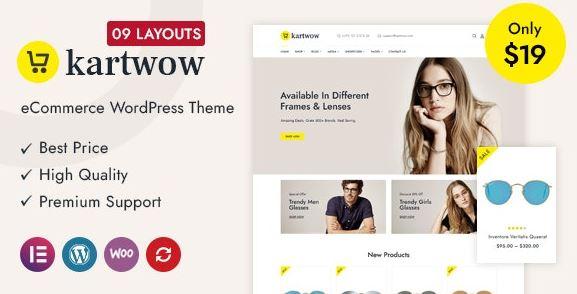 Kartwow - Multipurpose WooCommerce Theme