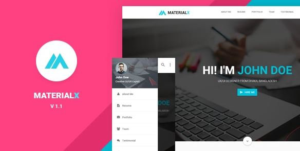 MaterialX - Material Design Personal Template