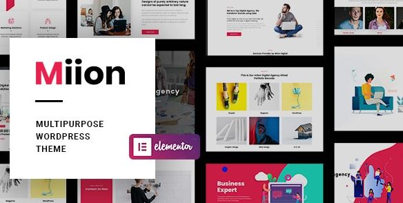Miion | Multi-Purpose WordPress Theme Nulled