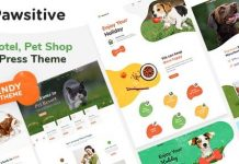 Pawsitive - Pet Care & Pet Shop WordPress Theme