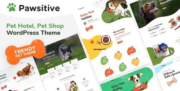 Pawsitive - Pet Care & Pet Shop WordPress Theme