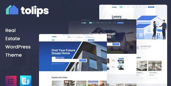 Tolips - Real Estate WordPress Theme
