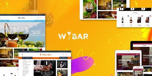 Wibar - Wine and Vineyard WooCommerce WordPress Theme