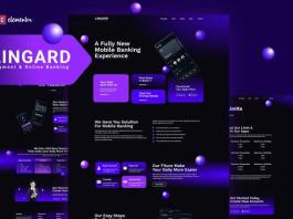 Lingard - Payment & Online Banking Elementor Template Kit